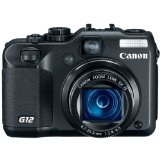 Cyber Monday Canon G12 10MP Digital Camera with 5x Optical Image Stabilized Zoom and 2.8 inch Vari-Angle LCD