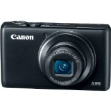 Cyber Monday Canon PowerShot S95 10 MP Digital Camera with 3.8x Wide Angle Optical Image Stabilized Zoom and 3.0-Inch inch LCD